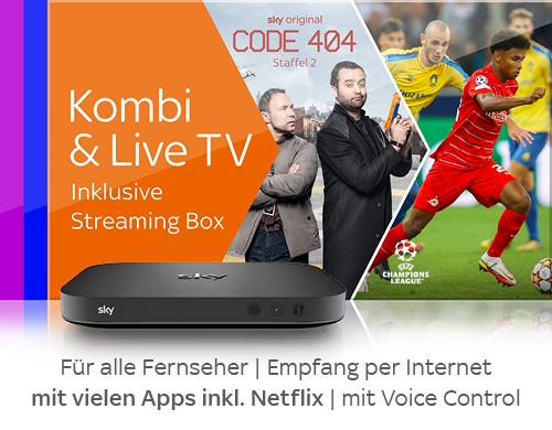 Streaming Box Angebot
