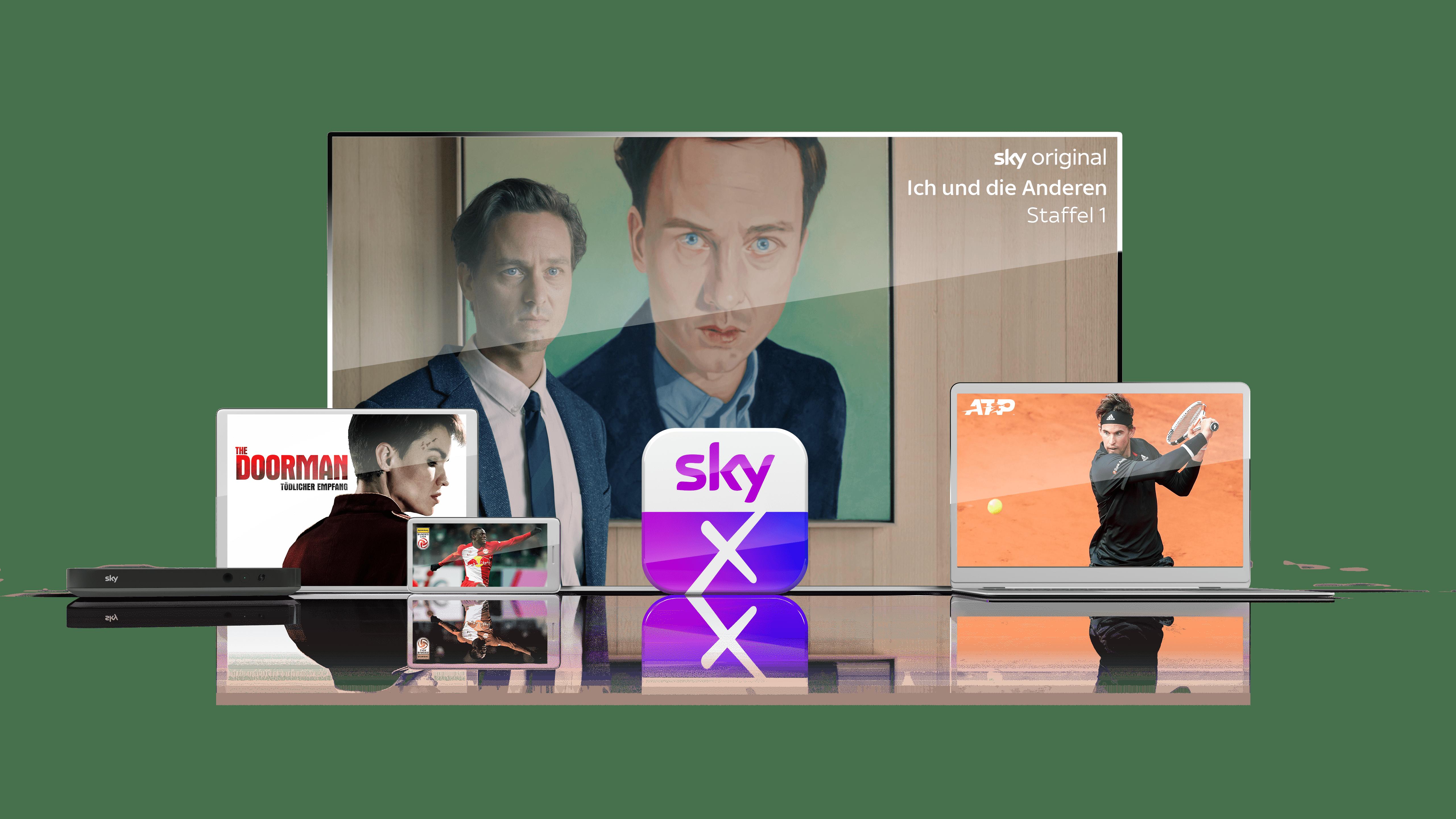 Sky X - bester Streaming Dienst auf allen Geräten