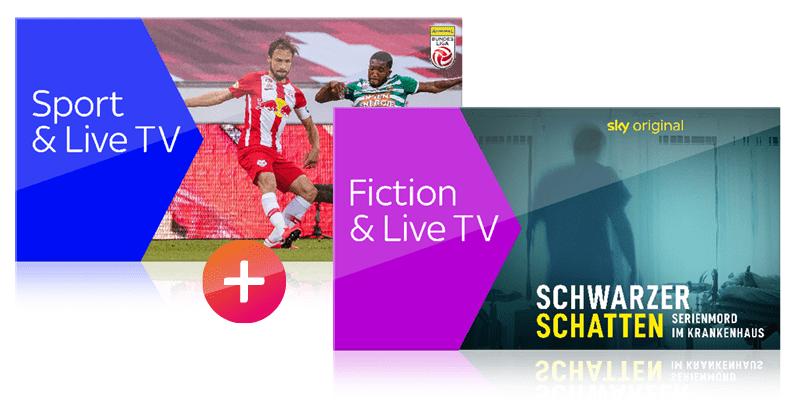 Kombi Ticket Sport, Fiction & Live