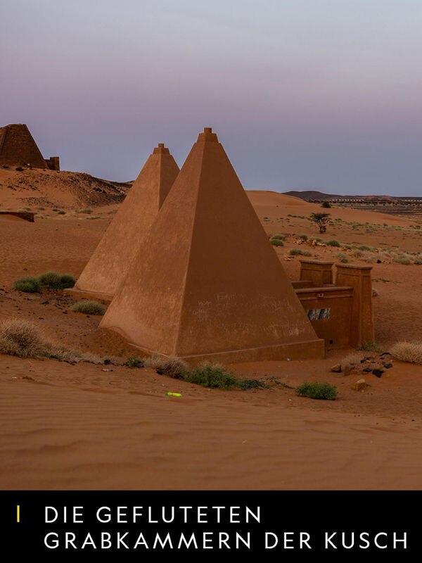 Die gefluteten Grabkammern von Kusch