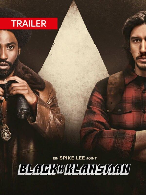 Trailer: BlacKkKlansman