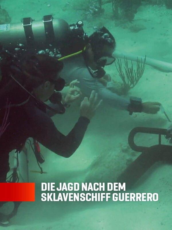 Die Jagd nach dem Sklavenschiff Guerrero
