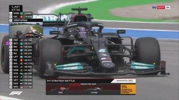 XXL-Highlights: Hamilton jubelt dank Strategie-Coup in Barcelona