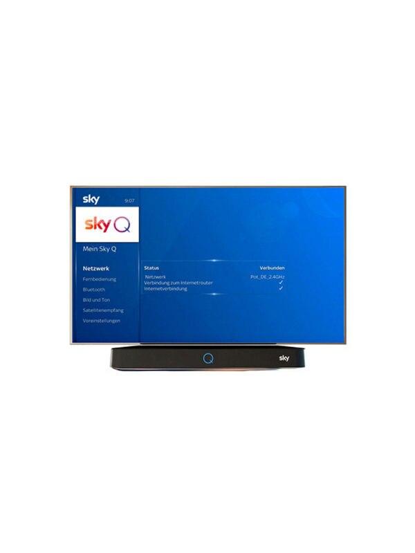 Sky Q Receiver mit Internet verbinden