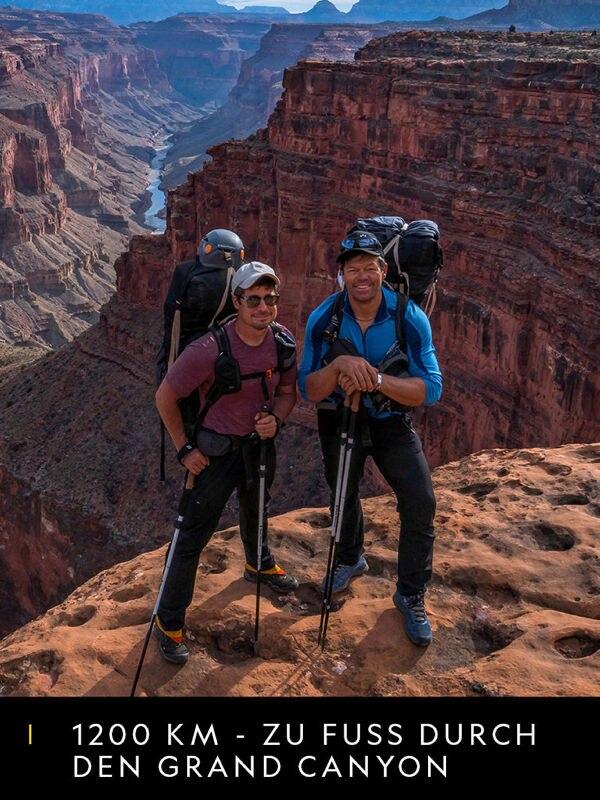 1200 km - Zu Fuß durch den Grand Canyon