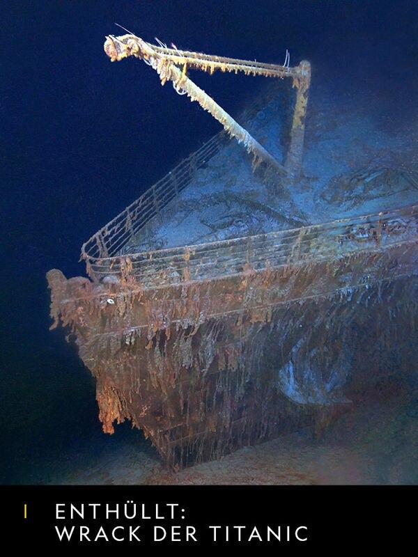 Enthüllt: Wrack der Titanic