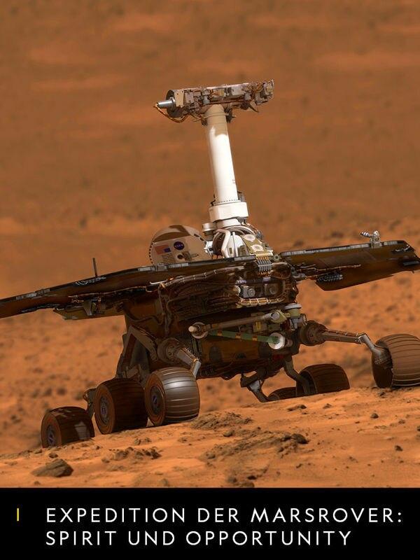 Expedition der Marsrover: Spirit und Opportunity