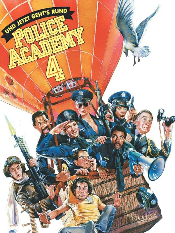 Police Academy 4: ... und jetzt geht's rund!