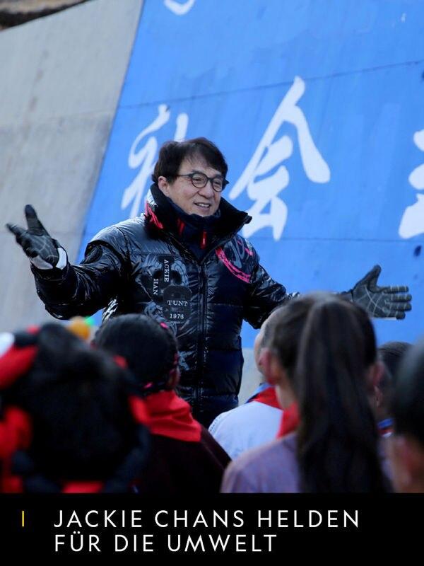 Jackie Chans Helden für die Umwelt