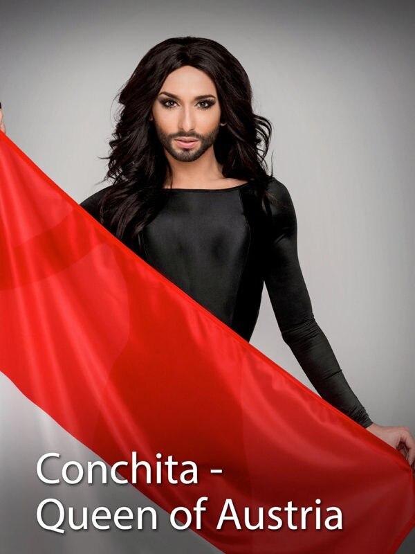 Conchita - Queen of Austria - Live vom Ballhausplatz in Wien
