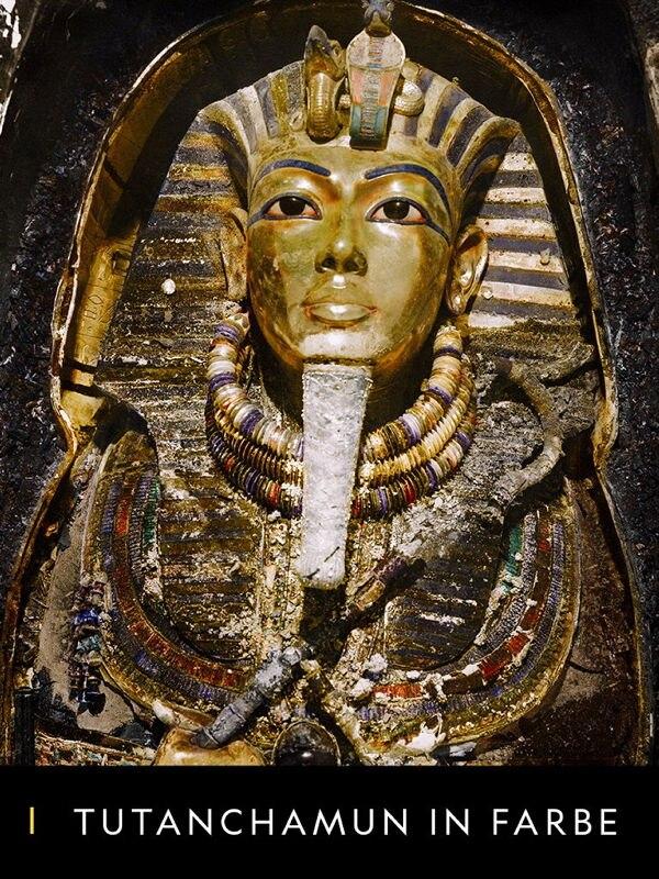 Tutanchamun in Farbe